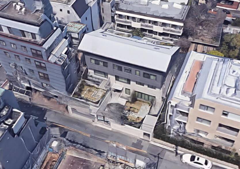日本調剤 三津原港区空撮