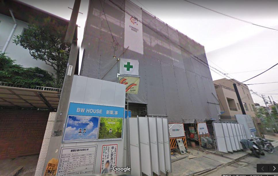 尾田栄一郎建築中